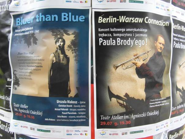 Bluer than Blue on tour, 2013. Photo by Christian Dawid.